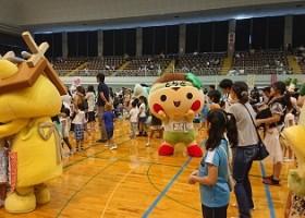 9月3日(日)「全国ご当地キャラクタースポーツ大会in大田原」に行ってきたまる☆☆