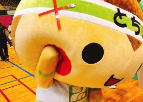 10月7日(日)「全国ご当地キャラクタースポーツ大会in大田原」に登場したまる~♪♪
